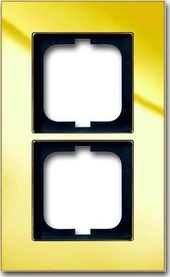 Busch-Jaeger Abdeckrahmen 2-fach ch Rahmen gold 1722-823-101