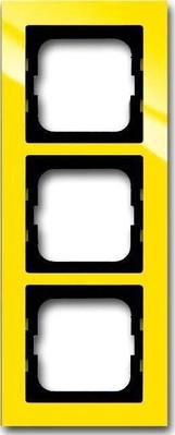 Busch-Jaeger Abdeckrahmen 3 fach gelb 1723-285