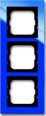 Busch-Jaeger Abdeckrahmen 3 fach blau 1723-288