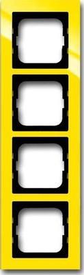 Busch-Jaeger Abdeckrahmen 4 fach gelb 1724-285