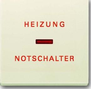 Busch-Jaeger Wippe sav/ews Heizung-Notschalter 1789 H-82