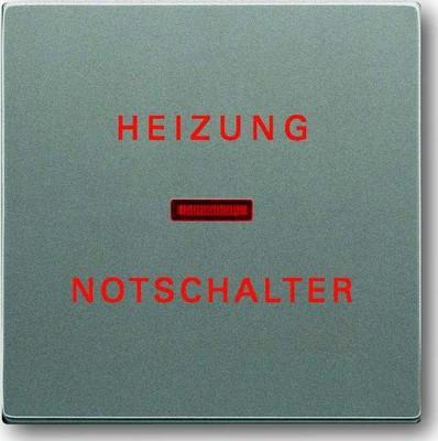Busch-Jaeger Wippe meteor/gr Heizung-Notschalter 1789 H-803