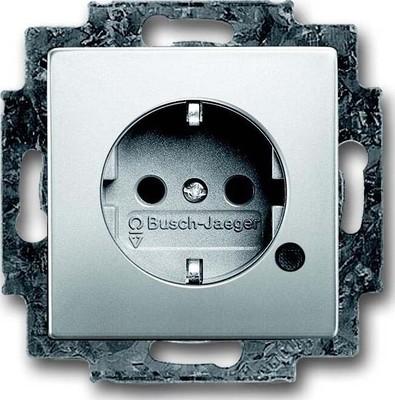 Busch-Jaeger SCHUKO(R) Steckdosen-Eins. m. LED Kontrolllicht 20 EUCBL-866