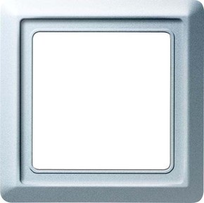 Busch-Jaeger Rahmen 1-fach alusi, UP, Allwetter 2101-33