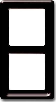 Busch-Jaeger Abdeckrahmen 2-fach ch Rahmen braun 2102-31