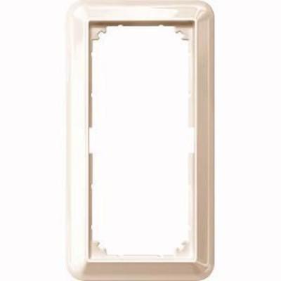 Merten Rahmen 2-fach ws/gl ohne Mittelsteg 388844