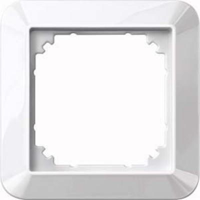 Merten Rahmen 1-fach polarweiß/ glänzend 389119