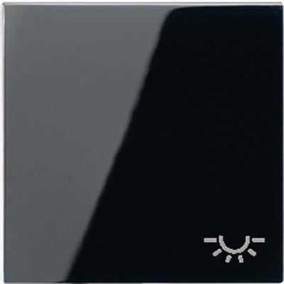 Jung Wippe Symbol LICHT schwarz für Schalter/Taster A 590 L SW