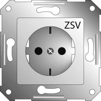 Elso Steckdoseneinsatz or mit Aufdruck ZSV 265118