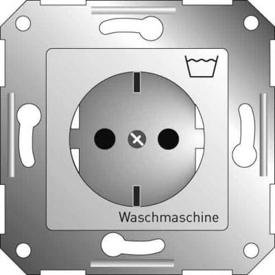 Elso Steckdoseneinsatz pws m.Symb.Waschmasch. 265120