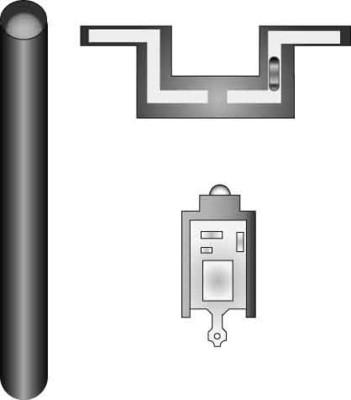 Elso Leuchtmarkierungsbaugruppe LED 1,8mA mit Lampe 123186