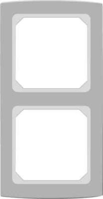 Elso Abdeckrahmen 2-fach anthrazitgrau 2042231