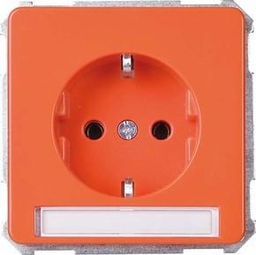 Elso UP-Steckdoseneinsatz orange 205018