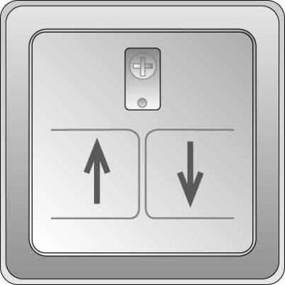 Elso Zentralplatte Rollladen anthrazitgrau 2070631