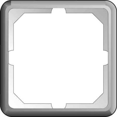 Elso Rahmen 1-fach achatgrau 2241012