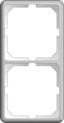 Elso Rahmen 2-fach achatgrau 2242012