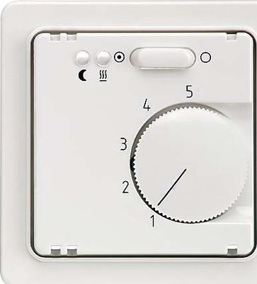 Elso Zentralplatte Temperatur reinweiß 227204