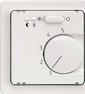 Elso Zentralplatte Temperatur rot 227209