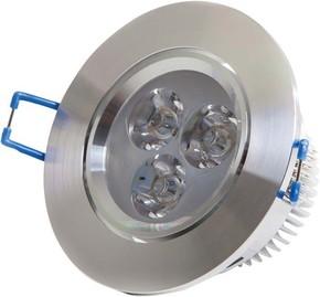Scharnberger+Hasenbein LED-Einbaustrahler aluminium 4W 230VAC 3000K 30Gr 53555