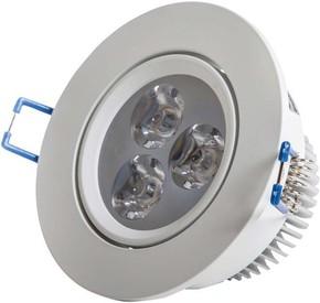Scharnberger+Hasenbein LED-Einbaustrahler weiß 4W 230VAC 3000K 30Gr 53557