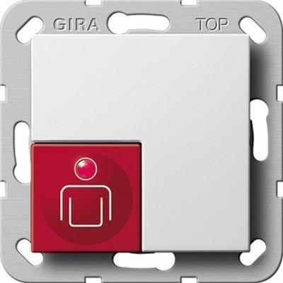 Gira Ruftaster System 55 Reinweiß 290003