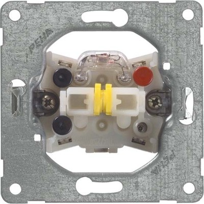 Peha Wippschalter Dauerbeleuch. 10A 250V N-Klemme D 516/4 GL