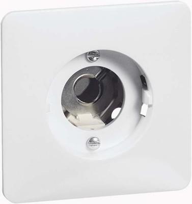 Peha UP-Lichtsignal reinweiß E10 ohne Lampe D 80.690.02 O.H