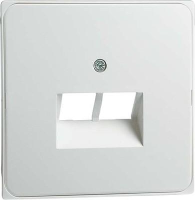 Peha Abdeckung aluminium für UAE-Dose 2Term. D 95.610.70 UAE/2-N
