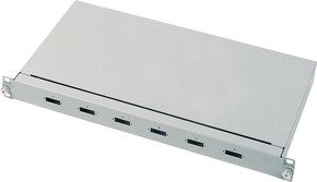 Corning LWL-Spleissbox für 6SC-D SPP3-E-6CD