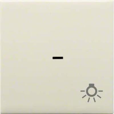 Hager Wippe Kontroll creme mit Licht-Symbol WYA321