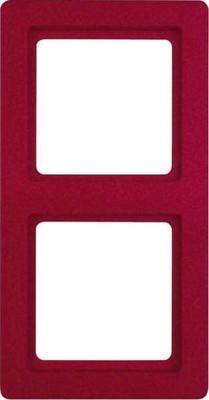 Berker Rahmen rot, samt 2-fach 10126062