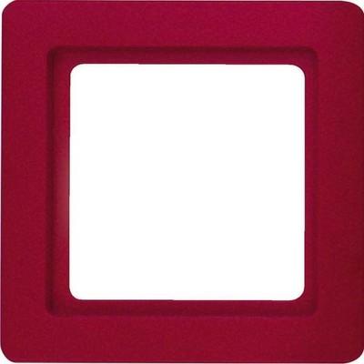 Berker Rahmen rot, samt 1-fach 10116062