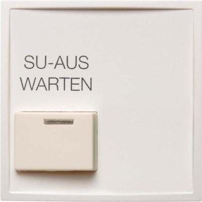 Berker Zentralstueck m. Quittiert aste weiss 13086089