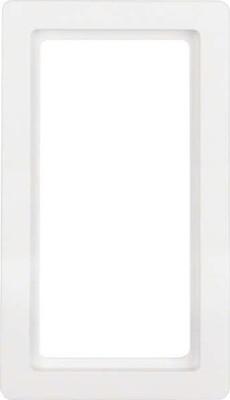 Berker Rahmen m. grossem Ausschni tt polarweiss, samt 13096089