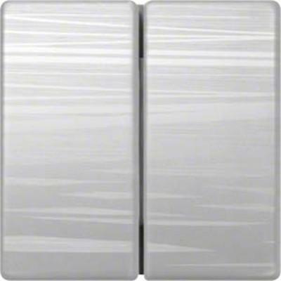 Hager Serienwippe aluminium liniert gebürstet WYA056A3