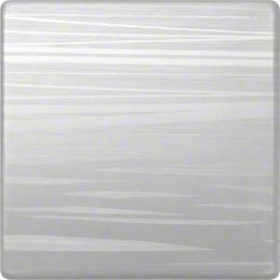 Hager Wippe aluminium liniert geschlossen WYA066A3