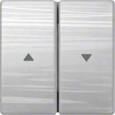 Hager Wippe aluminium liniert für Jalousie WYA126A3