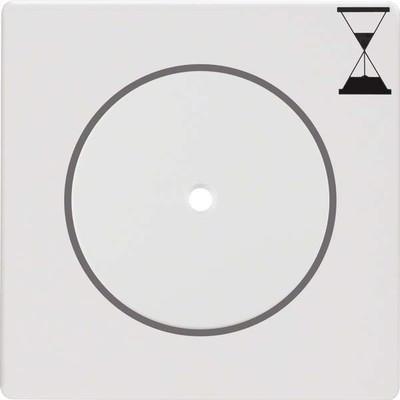 Berker Zentralstück m.Druckknopf f. Zeit-Relais-Sch. 16746089