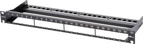 Corning Verteilerfeld schwarz für 24 Module WAXWSV-02408-C001