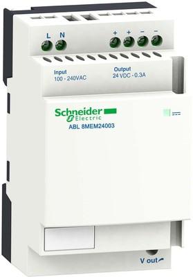 Schneider Electric Spannungsversorgung 0,3A 24VDC 100-240V ABL8MEM24003