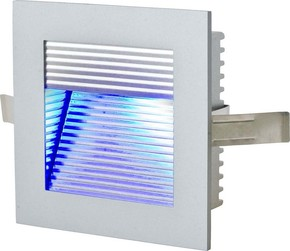 EVN Lichttechnik LED Wandeinbauleuchte 1,2W LED blau P21 430