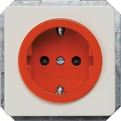 Siemens Indus.Sector Schuko-Dose Delta Profil, orange 5UB1480