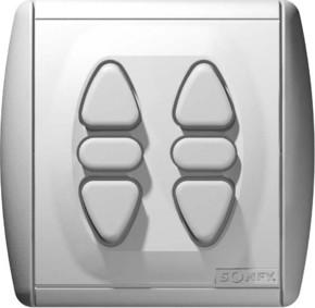 Somfy Zweifach-Rollladenschalter Inis Duo 1800015