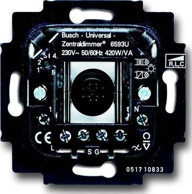 Busch-Jaeger Dimmer-Einsatz 60W/VA,max. 420W/VA 6593 U