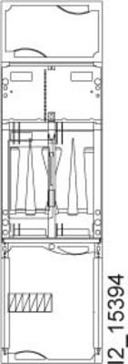 Siemens Indus.Sector A-ZS Schnellmontagebausatz für EHZ H=900mm B1 8GS6001-6