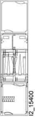Siemens Indus.Sector A-ZS Schnellmontagebausatz für EHZ H=1050mm B1 8GS6101-6