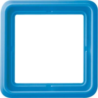 Jung Rahmen 1-fach bl waage/senkrecht CD 581 GL BL