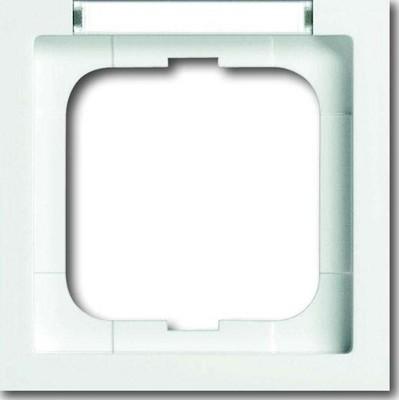 Busch-Jaeger Rahmen 1-fach stws, senk.Beschrift 1721-184 NSK
