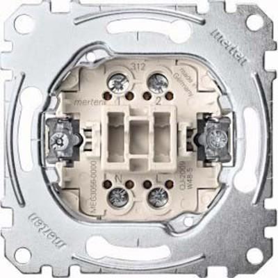 Merten Taster-Einsatz 1W 1-pol.10A 250V AC MEG3056-0000