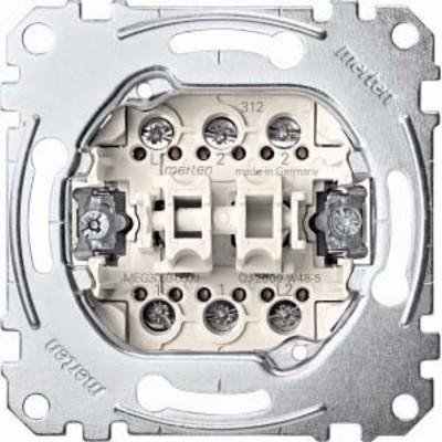 Merten Doppeltaster-Einsatz 2W 1-pol.10A 250V AC MEG3059-0000